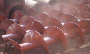 螺旋输送机叶片材质及厚度